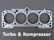 VW Zylinderkopfdichtung Verdichtungsreduzierung 2,0l 16V in 2,1mm